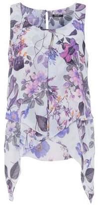 Dorothy Perkins Womens *Roman Originals Lilac Floral Print Top