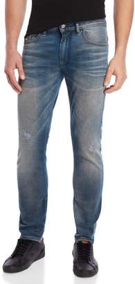 Diesel Indigo Thommer Slim Skinny Jeans