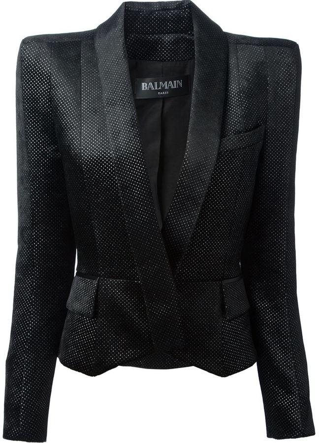 Balmain structured blazer