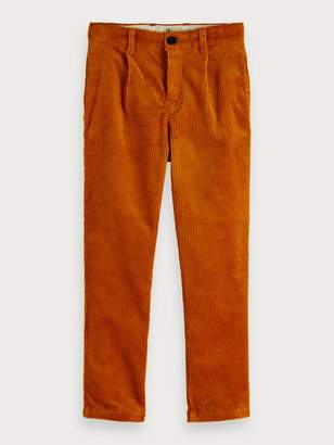 Scotch & Soda Corduroy Trousers Loose tapered fit