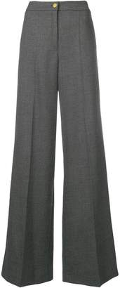 Edward Achour Paris high waisted palazzo trousers