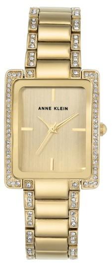 Anne KleinWomen's Anne Klein Crystal Bracelet Watch, 28Mm X 35Mm