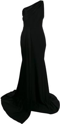 Alex Perry one shoulder long dress