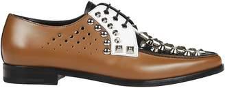 Prada Studded Oxford Shoes