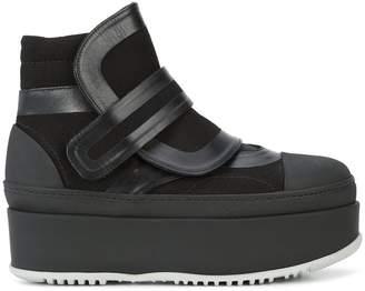 Marni platform high top sneakers