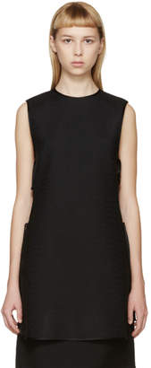 Rosetta Getty Black Side-Tie Tunic