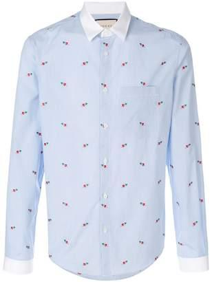 Gucci heart fil coupé duke shirt