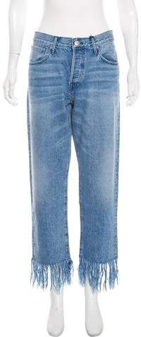 3x1 NYC High-Rise Straight-Leg Jeans w/ Tags