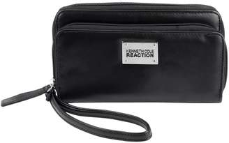 Kenneth Cole Reaction Stack N' Stash Brand New Stylish Designed Fashionable Double Zip Around Clutch Phone Wallet
