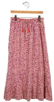 Scotch R'Belle Girls' Printed Long Skirt
