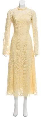 Derek Lam Long Sleeve Lace Dress