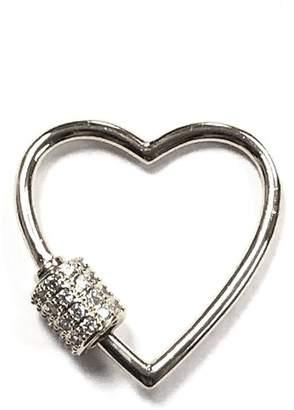 Omg Blings Small Outlined-Heart Charm