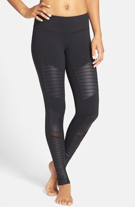 Women's Alo Moto Leggings $110 thestylecure.com