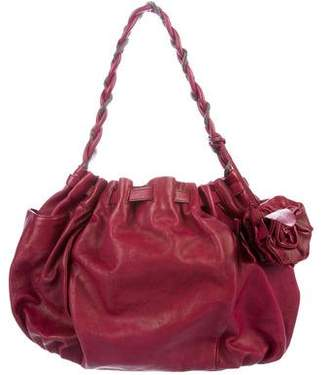 Botkier Leather Rose Hobo