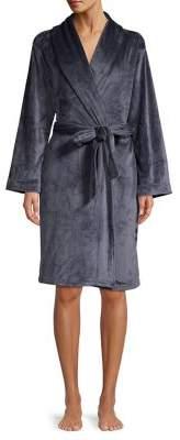 Natori N Velour Belted Robe