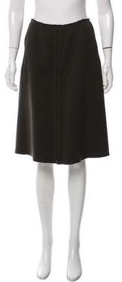 Prada Knee-Length Pencil Skirt