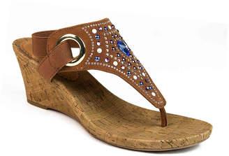 White Mountain Adeline Wedge Sandal - Women's