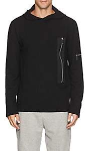 Blood Brother MEN'S NEO PIQUÉ-KNIT HOODIE-BLACK SIZE XL