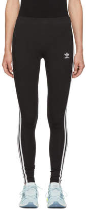 adidas Black 3-Stripes Tights