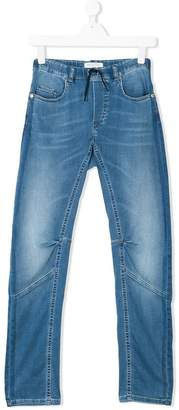 John Galliano washed jeans