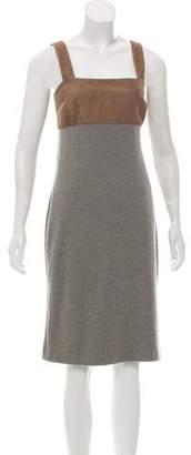 Ralph Lauren Suede Cashmere Dress