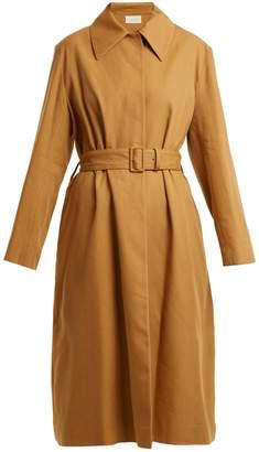 Rundi Panama linen trench coat