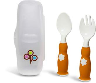Zoli ZoLi Fork and Spoon Set (Orange)