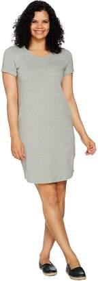 C. Wonder Essentials T-Shirt Dress with Front Pocket