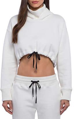 Koral Activewear Clover Cropped Activewear Hoodie
