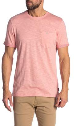 Ted Baker Taxi Slub Cotton Pocket T-Shirt