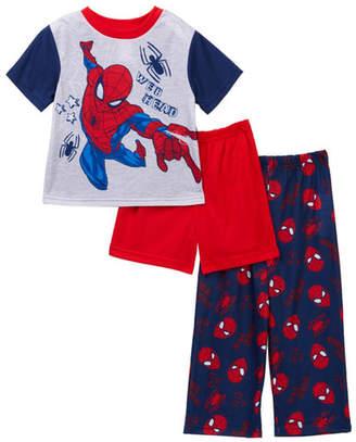 Spiderman AME Web Head 3-Piece PJ Set (Toddler Boys)