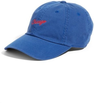 Women's American Needle Boardshort - Chicago Baseball Cap - Blue $24 thestylecure.com