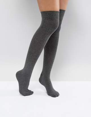 Asos Design DESIGN over the knee socks