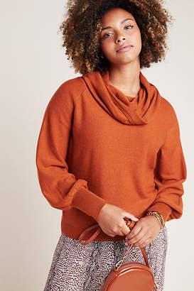 Anthropologie Jolene Wool Cowl Neck Sweater