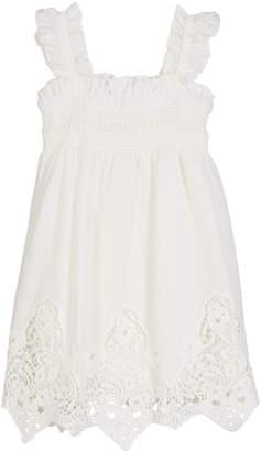 Mayoral Battenberg Lace Sun Dress, Size 4-7