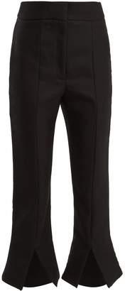 Jacquemus Le Corsaire Fendu wool-blend cropped trousers