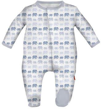 Magnificent Baby Blue Elephant Sleepwear