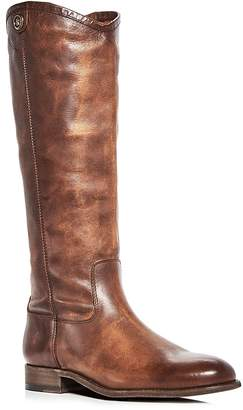 Frye Women's Melissa Button 2 Leather Tall Boots
