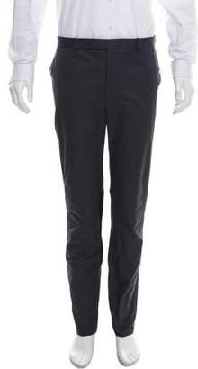 Balenciaga Two-Tone Flat Front Pants