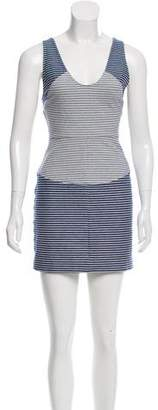 Thakoon Striped Mini Dress