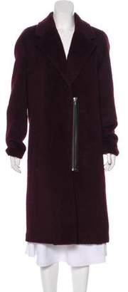 Alexander Wang Wool & Alpaca-Blend Long Coat