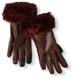 Faded Glory Women's Fur Glove