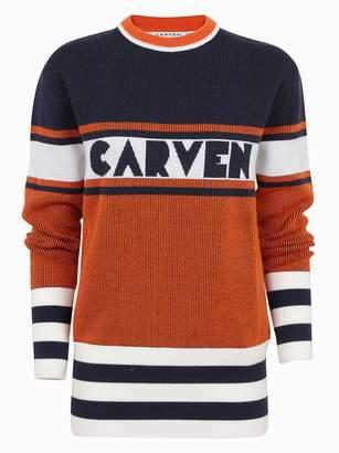 Carven Logo Sweater