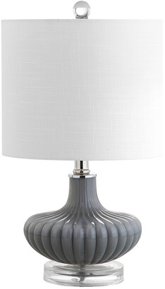 Jonathan Y Designs Kamille 18In Glass & Lucite Table Lamp