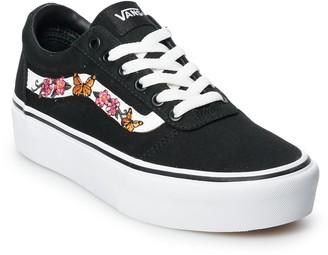 Vans Ward Women's Platform Skate Shoes