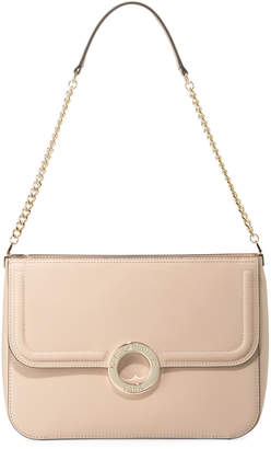 cac562f7ea40 Karl Lagerfeld Paris Clarise Saffiano Leather Shoulder Bag