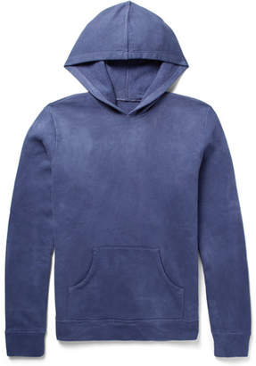 The Elder Statesman Fleece-Back Cotton-Jersey Hoodie