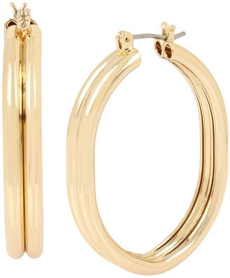 BCBGeneration Oval Medium Hoop Earrings