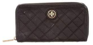 Tory Burch Quilted Leather Compact Wallet