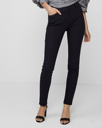 Express Mid Rise Stretch Skinny Pant
